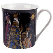 Fine China Mug With Three Kings Design by Bug Art Gift Boxed