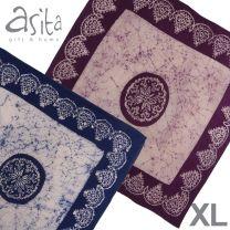 Asita Gift & Home XL Bandana Batik Hand Printed