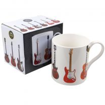 Rockers Guitar Mug Cup from The Leonardo Collection Fine China Gift Boxed Rock