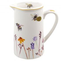 Classic China Jug Busy Bees Range by The Leonardo Collection Gift Boxed