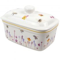 Classic Butter Dish Busy Bees Range by The Leonardo Collection