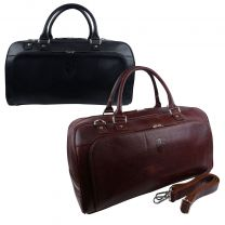 Mens Leather Weekender Holdall by Underwood & Tanner Hansson Travel Overnight Bag