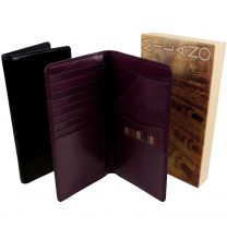 Mens Quality Golunski Italian Leather Travel Wallet Credit Cards Passport Holder 2 Colours Travel Business Holiday