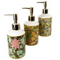 William Morris Inspired Design Soap Dispenser Classic Textile Designer