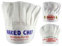 Cotton Fun Chef's Hats by Boxer BBQ Summer Funny Gift Father's Day