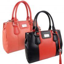 Ladies Luxury Leather Grab Bag By ECLORE Paris