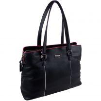 Mala Leather Premium Black Ladies Handbag Work Bag Newton