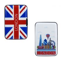 London Cardholder Wallet Hard Case Contactless Protected