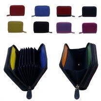 Golunski Graffiti  Soft Leather Credit Card Purse RFID Protection Concertina