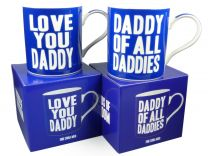 Love you daddy or Daddy of all Daddies Mug/Cup Gift Boxed Fathers Day Christmas