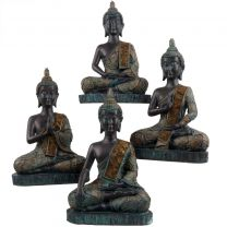 Verdigris Thai Buddha 23cm Tall 4 Designs Meditation Mindfulness Metta