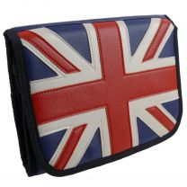 Mens Union Jack Travel Hanging Washbag