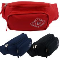 Mens Ladies Bum Bag Available in 3 colours by Two Bare Feet Traveling Festivals Beach Dog Walking