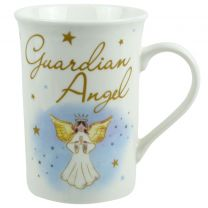 Guardian Angel Mug with Message Gift Boxed