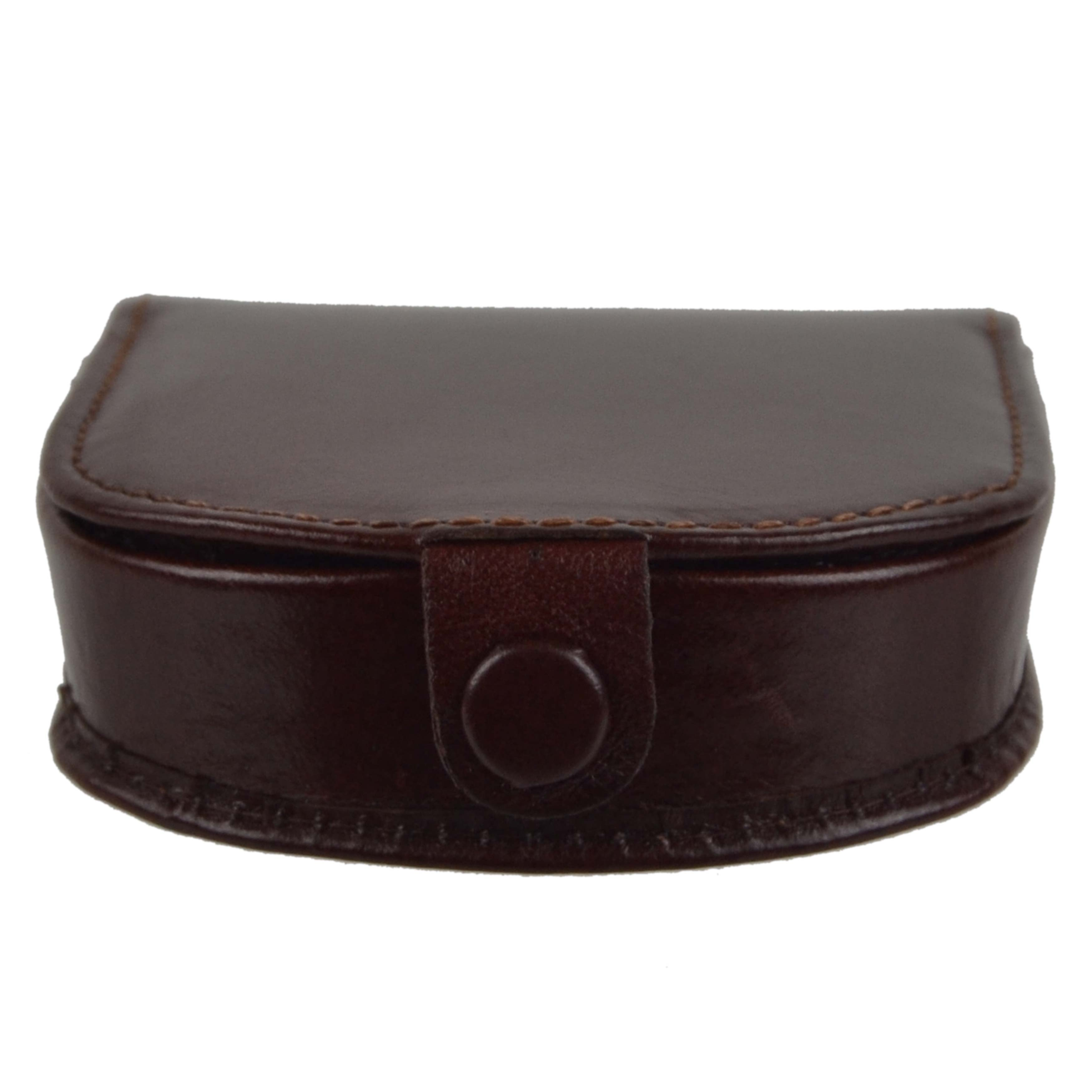 thumbnail 17 - Mens-Classic-Leather-Tabbed-Coin-Tray-by-Visconti-Monza-Collection-Gift-Boxed